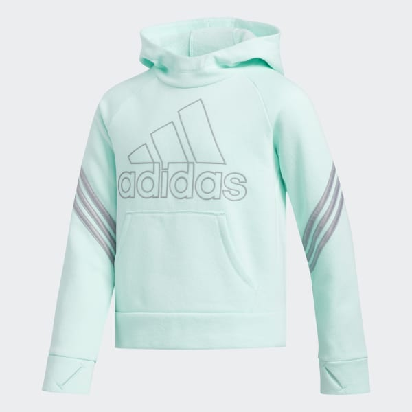 adidas French Terry Pullover Hoodie Green | adidas US