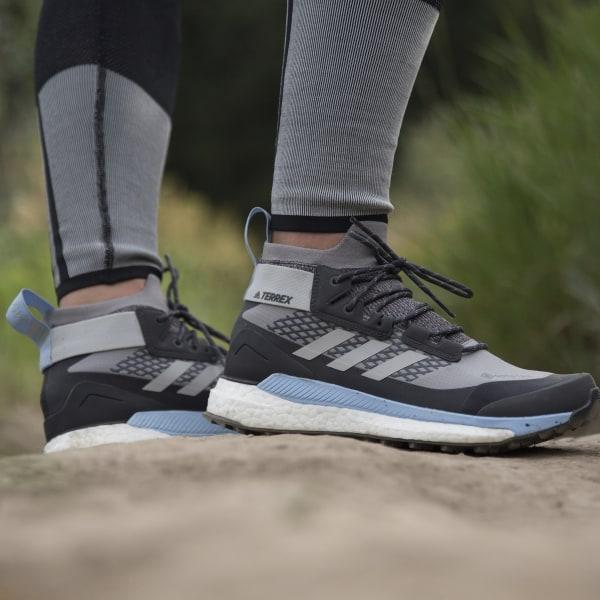 adidas Terrex Free Hiker GORE TEX Hiking Shoes Grey | adidas US