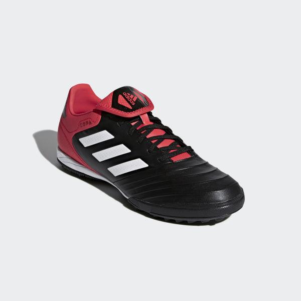 Adidas Copa Tango 18.3 Tf Core Schwarz Weiß Real Coral
