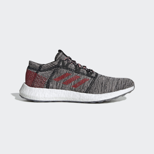 Adidas Pureboost Shoes Core BlackScarletClear Orange