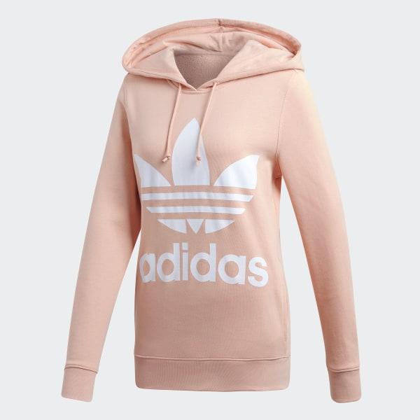 adidas Trefoil Hoodie Pink | adidas Canada