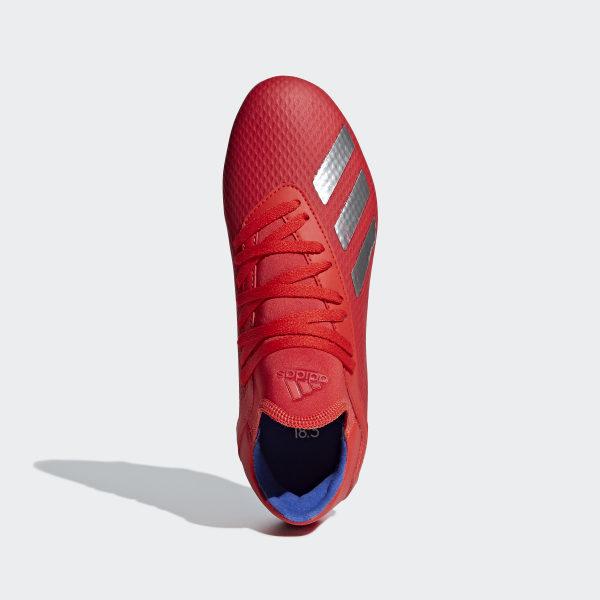 Scarpe da calcio X 18.3 Firm Ground Rosso adidas | adidas
