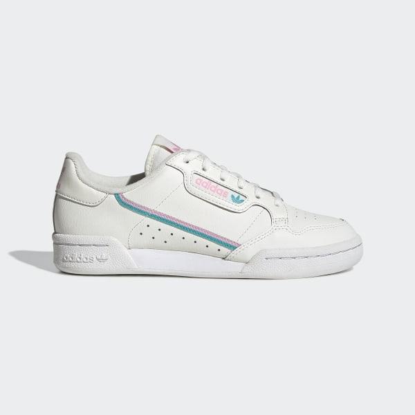 adidas Continental 80 Shoes - White | adidas UK