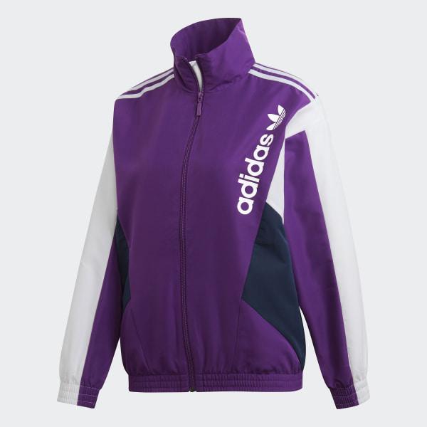 adidas Track Jacket Purple | adidas US