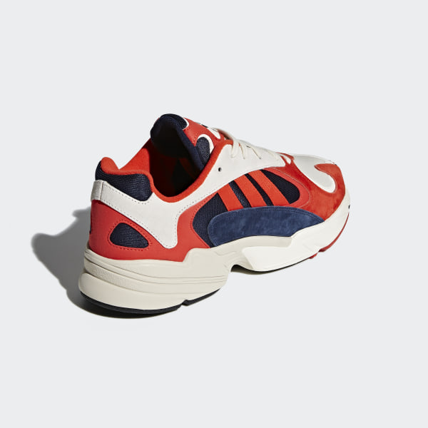 Adidas Yung 1 Chalk White Collegiate Navy Red Cool Sneakers