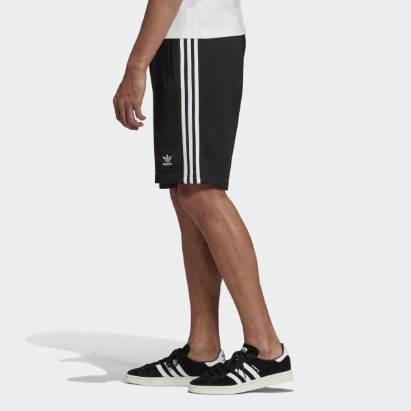 adidas 3 Streifen Shorts Schwarz | adidas Deutschland