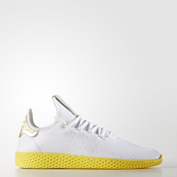 adidas Pharrell Williams Tennis Hu Primeknit Shoes White | adidas US