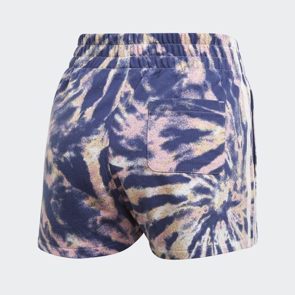 adidas 3 stripes shorts multicolor