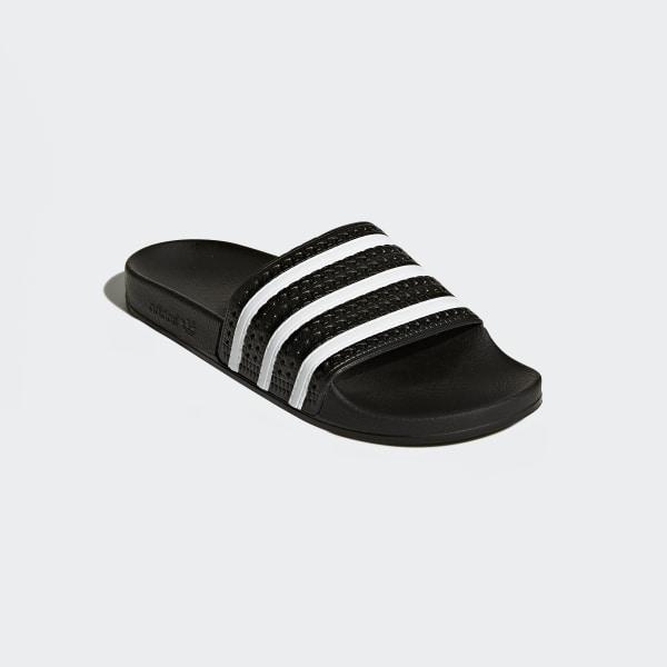 adidas sneakers zwart roze, ADIDAS ORIGINALS ADILETTE