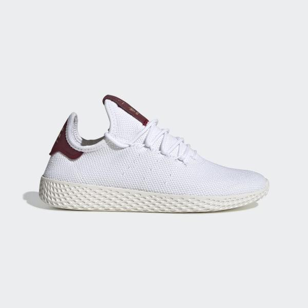 belle scarpe stile squisito economico per lo sconto adidas Pharrell Williams Tennis Hu Shoes - White | adidas Malaysia