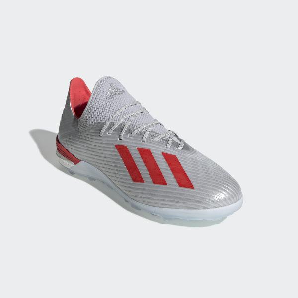 adidas X 19.1 TF Fußballschuh Silber | adidas Deutschland