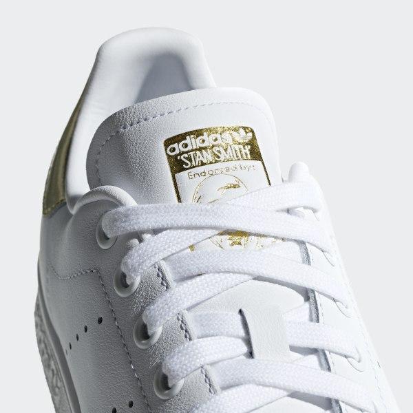 adidas stans smith uomo bianco e gold