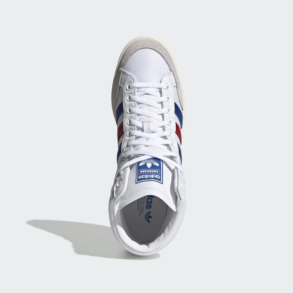 adidas Americana Hi 88 Schuhe weiß rot blau