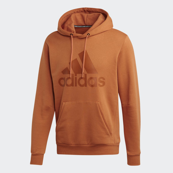 adidas Must Haves Badge of Sport Fleece Pullover Braun | adidas Deutschland