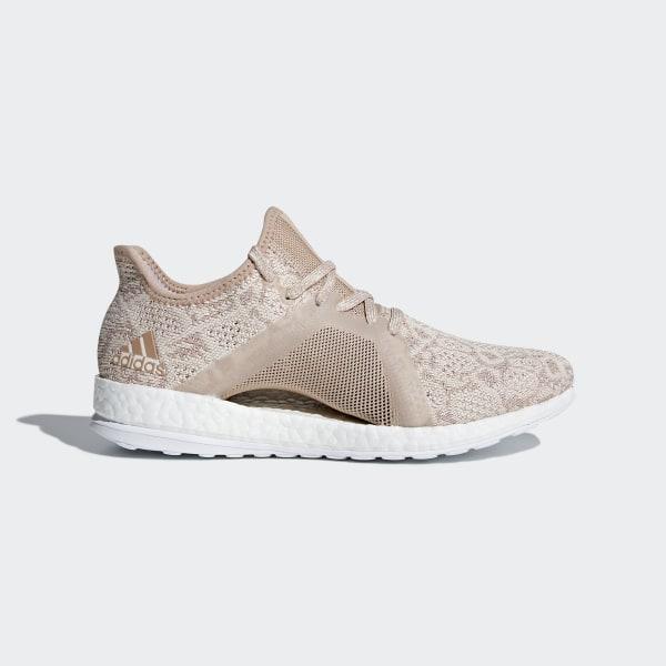 Buy Womens Adidas GreyBlue Pureboost X Element Running