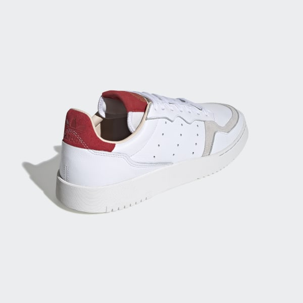 Supercourt Shoes Cloud White / Cloud White / Scarlet EF9181