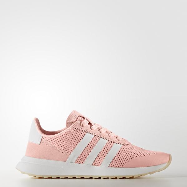 adidas Flashback Haze Coral & White Shoes Zumiez    adidas Flashrunner Sko Pink   title=          adidas US