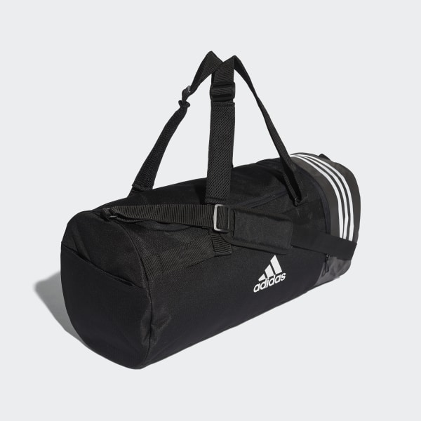 adidas Convertible 3 Streifen Duffelbag M Schwarz | adidas Deutschland