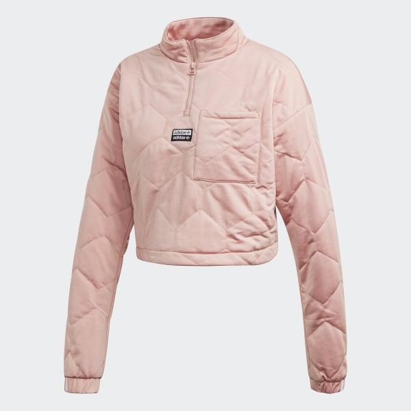 Adidas Originals Cropped Sweater Pink Spirit