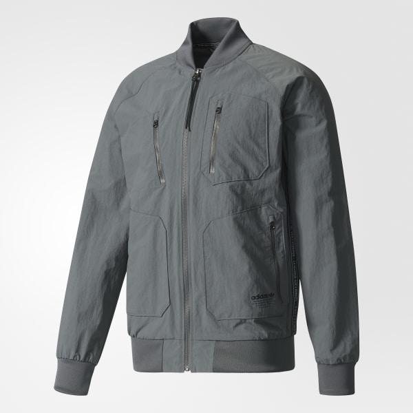 adidas Urban Track Jacket - Grey   adidas