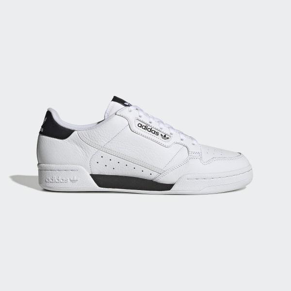adidas Continental 80 Shoes White adidas US    adidas Continental 80 Sko Hvid   title=          adidas US