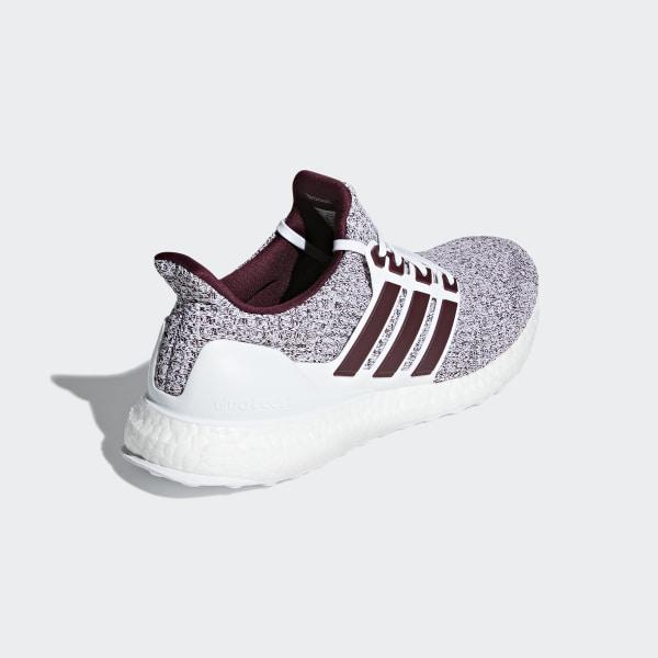 adidas ultra boost 4.0 cloud white maroon