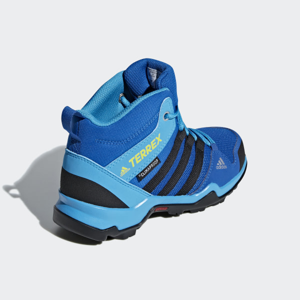 adidas Terrex AX2R Mid Climaproof Shoes Blue | adidas US