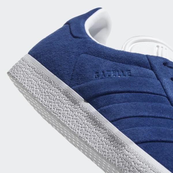 Chaussure Gazelle Stitch and Turn Bleu adidas | adidas France