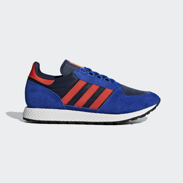 adidas Forest Grove Shoes - Blue | adidas US
