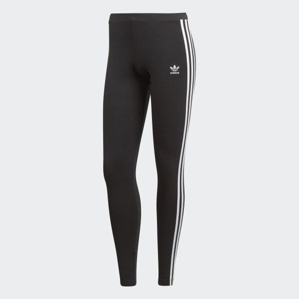adidas 3-Stripes Legging - Zwart | adidas Officiële Shop