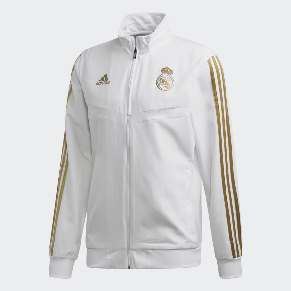 adidas Real Madrid Presentation Jack Wit | adidas Officiële Shop
