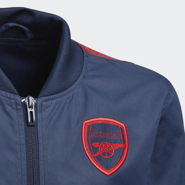 adidas Arsenal Anthem Jacket Blue | adidas US