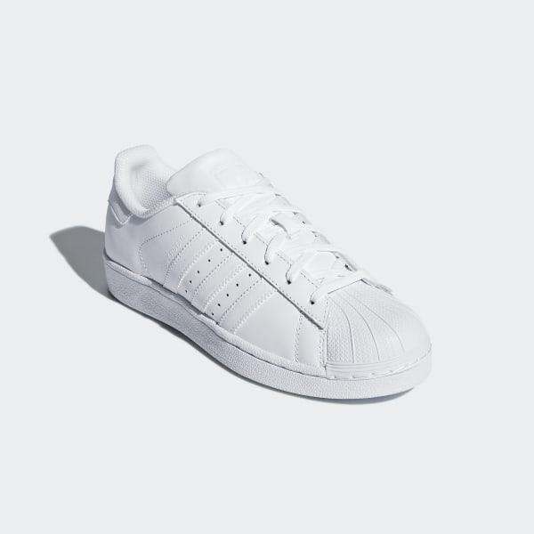 Gute Qualität adidas Superstar Foundation WeißWeiß Schuhe