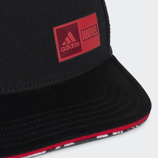 Gorra de los Vengadores de Marvel Negro adidas | adidas Peru