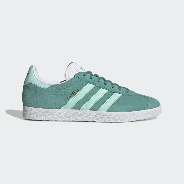 Adidas Originals Adidas Originals Green Men Gazelle Trainers