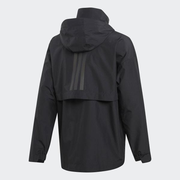 adidas Urban Climaproof Rain Jacket Black | adidas UK