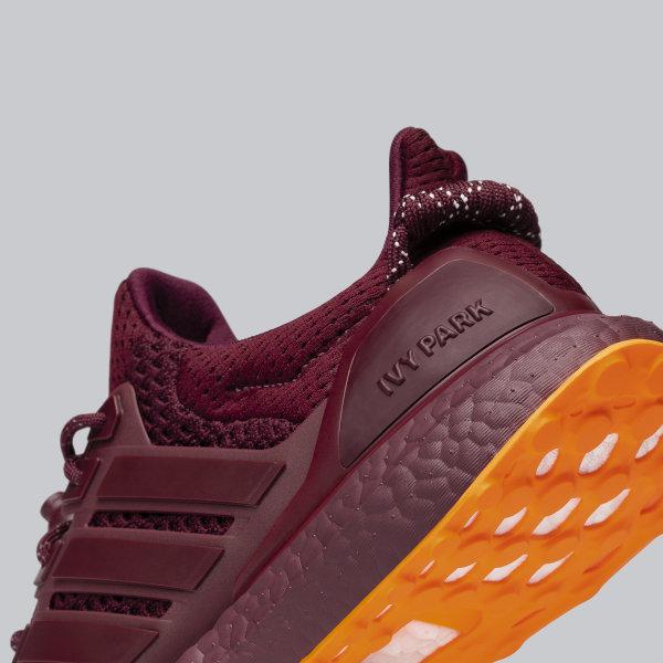 Adidas Ivy Park Ultraboost Shoes Burgundy Adidas Us