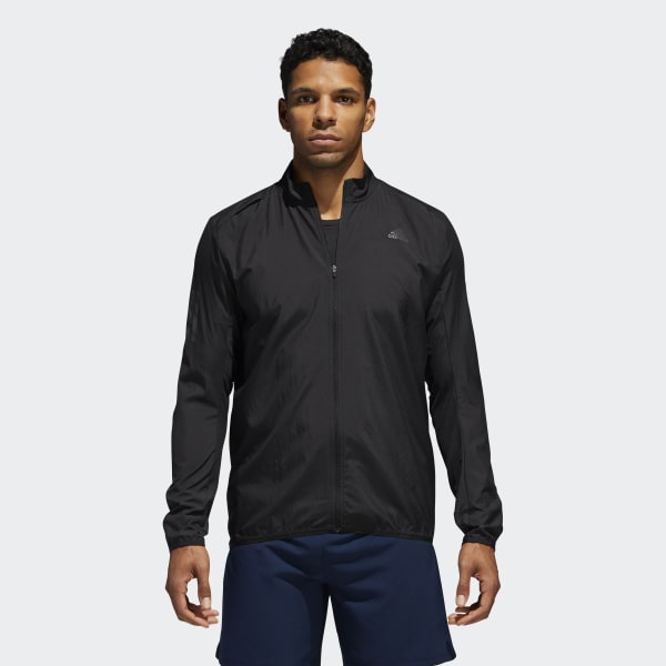 adidas Response Wind Jacket Black | adidas US