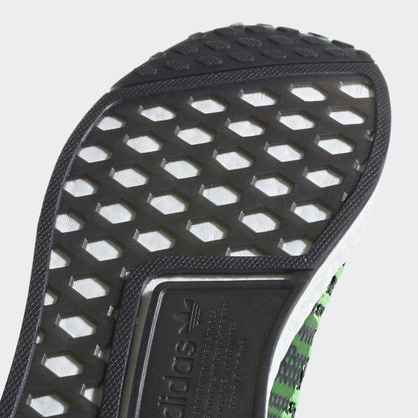 Men's Adidas NMD TS1 Watermelon Green Black B37628