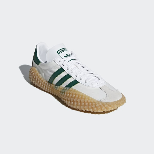 G26797 Adidas Country x Kamanda Running Shoes Collegiate Green White Gum SZ