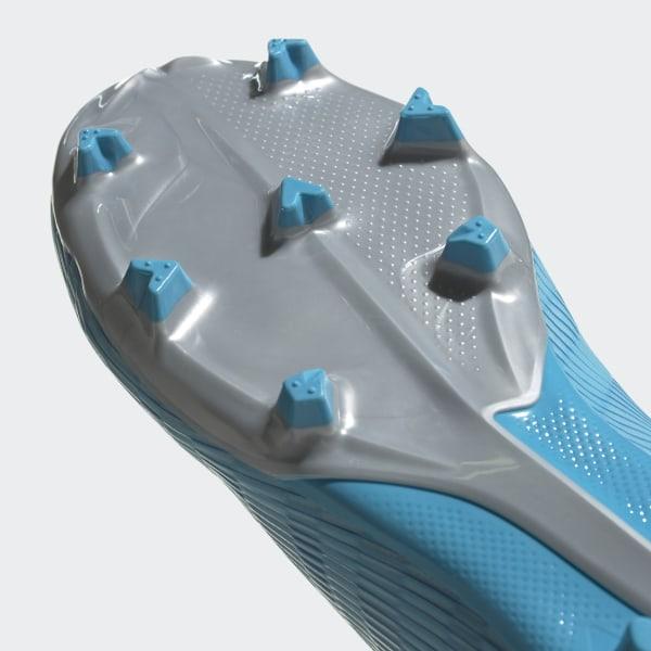 calcio ADIDAS scarpe da calcio x 19.3 ll fg cyan nero rosa