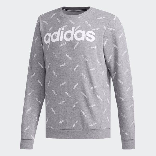 adidas Graphic Sweatshirt Grau | adidas Deutschland
