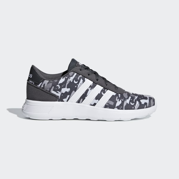 adidas Lite Racer Shoes Grey | adidas UK