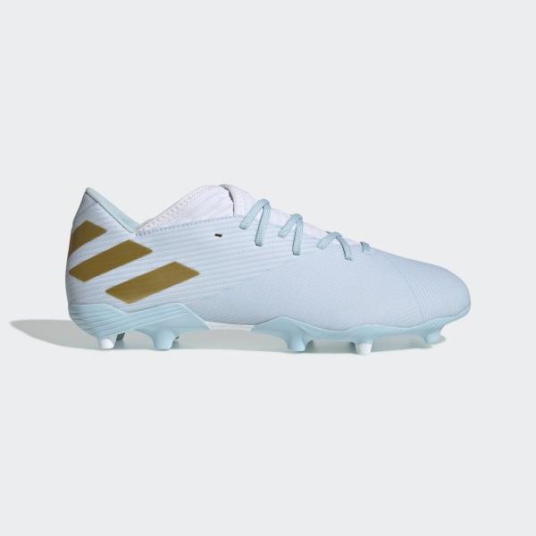 Year Boots Nemeziz Whiteadidas 19 3 adidas 15 Ground UK Messi Firm zqSpUGMV