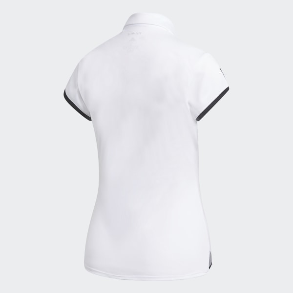 adidas 3 Streifen Club Poloshirt Weiß | adidas Austria