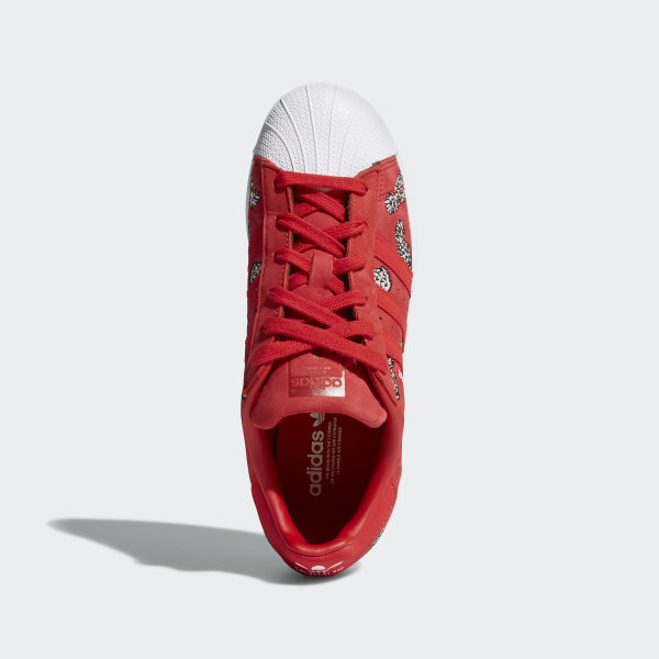 adidas superstar rojas niño