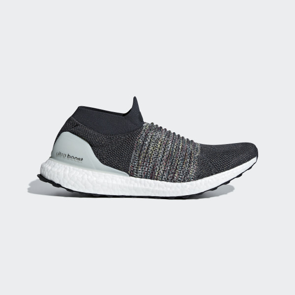 adidas UltraBOOST Laceless with Black BOOST Drops at Sole