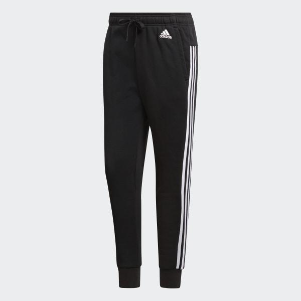 Adidas Damen Tights Essentials 3 Streifen Papier Print