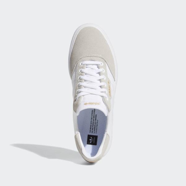 adidas 3MC Vulc Shoes White | adidas UK