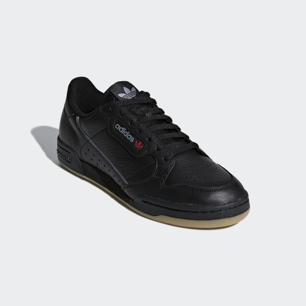 adidas Continental 80 Shoes Black | adidas Australia